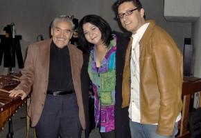 Sonia y José con Don Zeferino Nandayapa