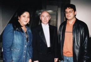 Sonia y José con Jorge Federico Osorio