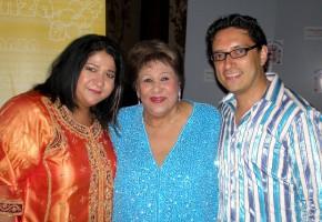 Sonia y José con Olga Guillot