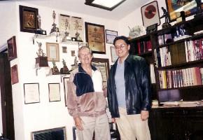 José con Rubén Fuentes