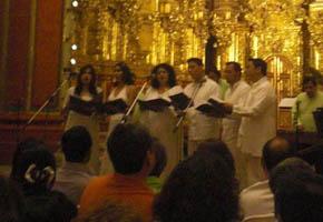 Homenaje a Don Zeferino Nandayapa en Tepotzotlán. 2011.