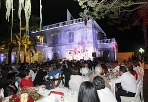 Concierto de la Amistad en la Quinta Grijalva de Villahermosa, Tabasco. 2011.