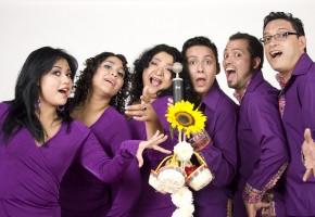 2010 - Mariana, Vanessa, Sonia, Santiago, Luis y José. Vestuario:  Sebastián y María Luisa. (Foto: Ursula Guri)