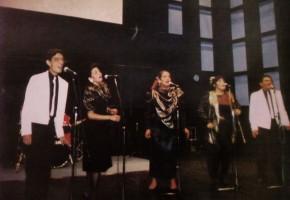 1991 - Voz en Punto, Segundo Premio del Festival Internacional Coral de Tampere 1991. José Galván, Lourdes Vilchis, Nieves Navarro, Sonia Solórzano y Hugo García