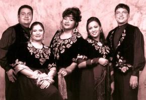 1997 - Ramón León, Adriana Avilés, Cristina Solórzano, José Galván (Vestuario-Armando Marfud. Foto: Maritza López)
