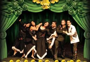 2009 - Mariana Lorenzo, Vanessa Millán, Sonia Solórzano, Santiago Menéndez, Luis Giolando Martínez y José Galván (Vestuario: Ernesto Hernández, Foto: Anadón, Diseño: Verenice Sainz)